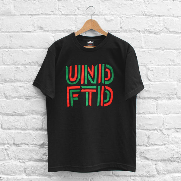 Undefeated Stack T-Shirt Black