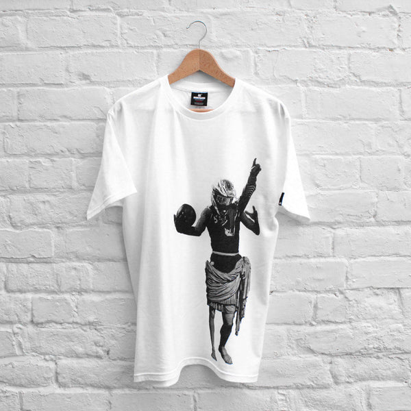 Undefeated Statue T-Shirt White