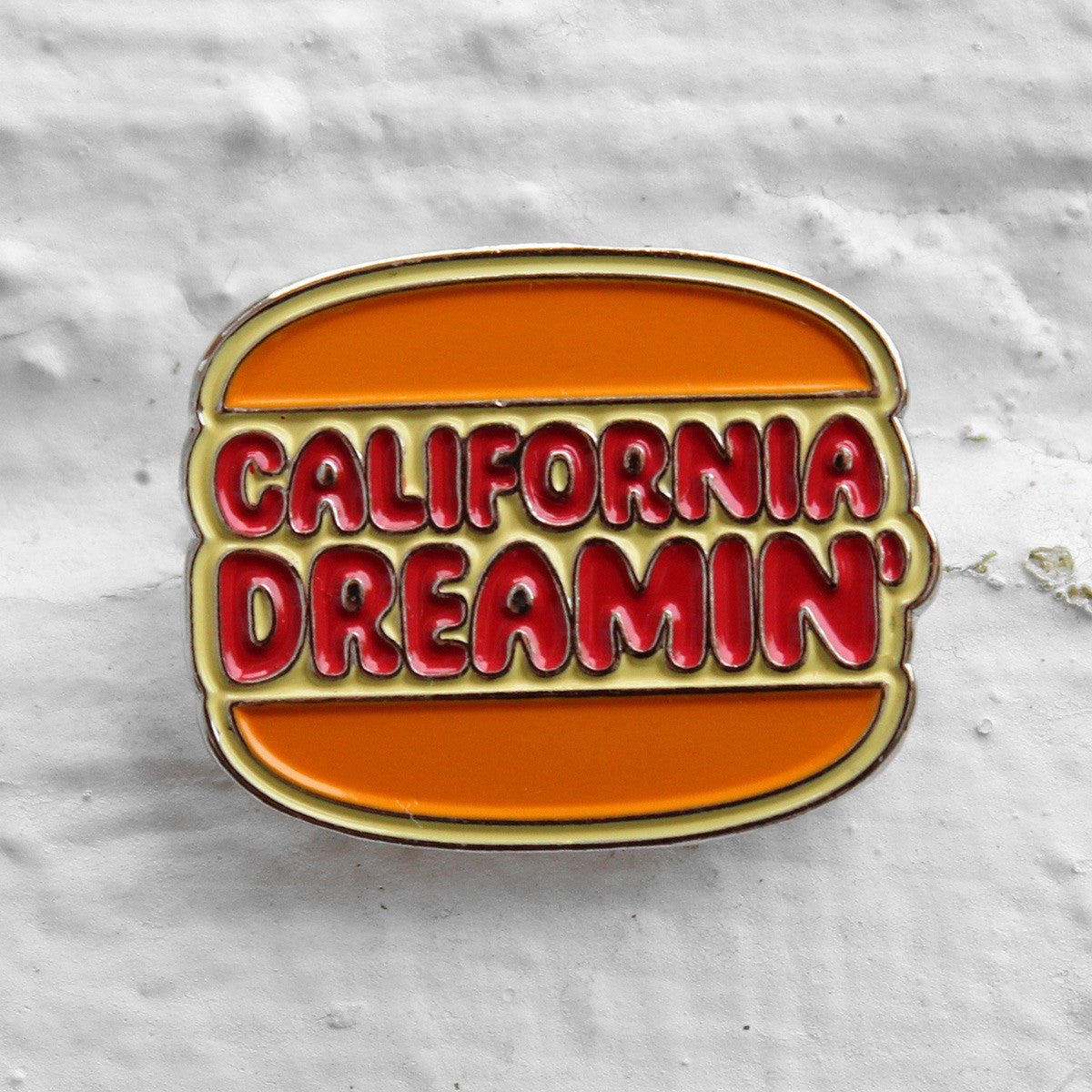 Valley Cruise Press California Dreaming' Burger Pin Badge