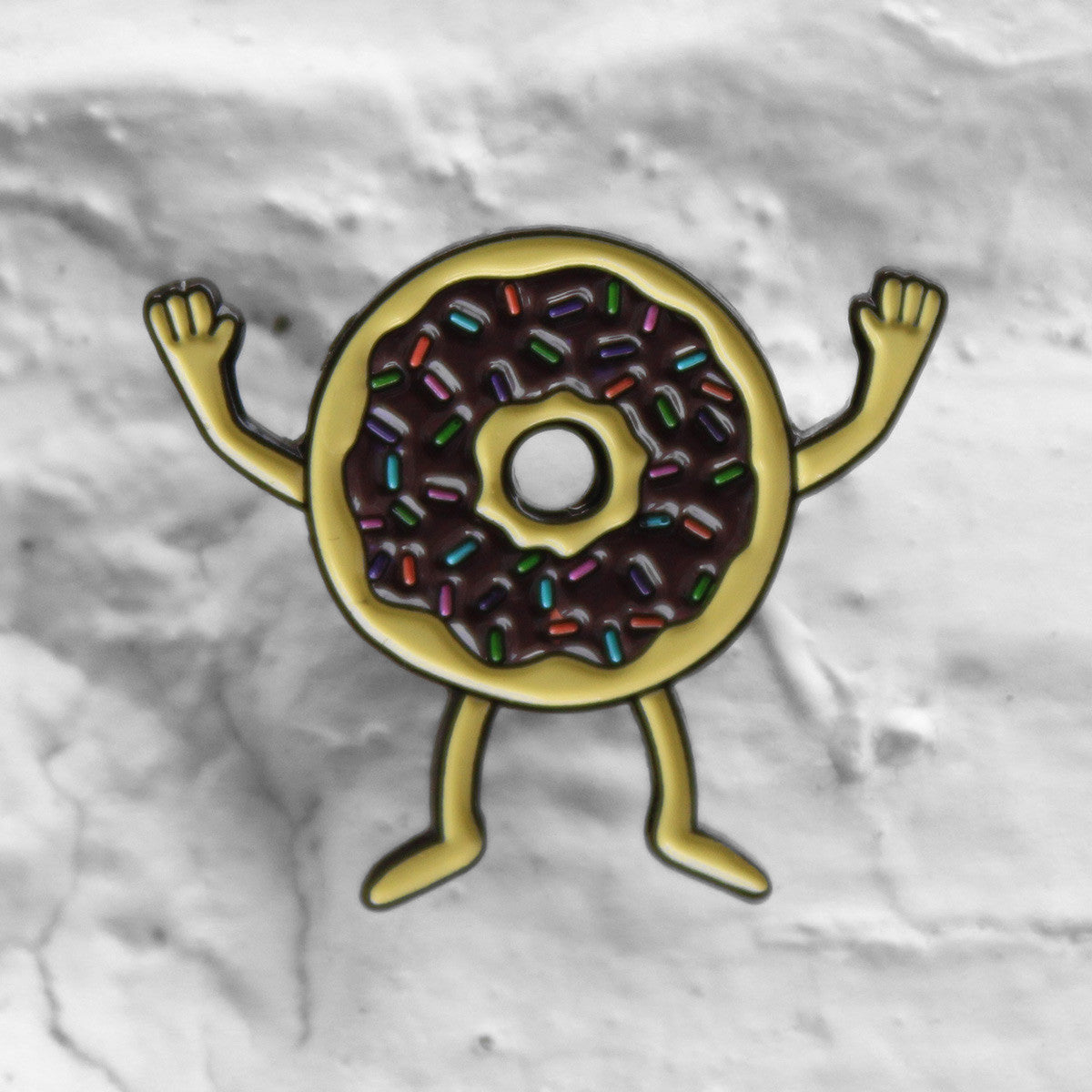 Valley Cruise Press Donuts Pin Badge