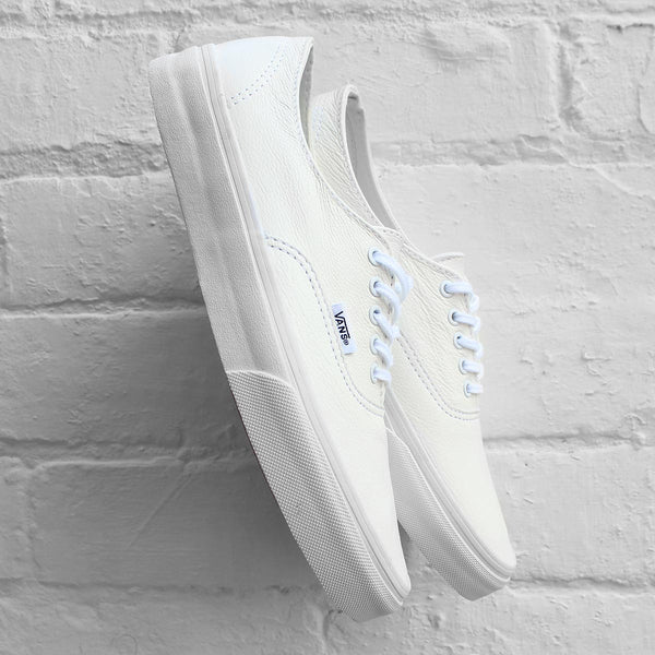 Vans Authentic Decon (Premium Leather) True White