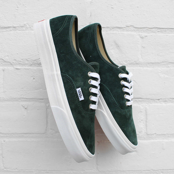 Vans Authentic Suede Darkest Spruce/True White