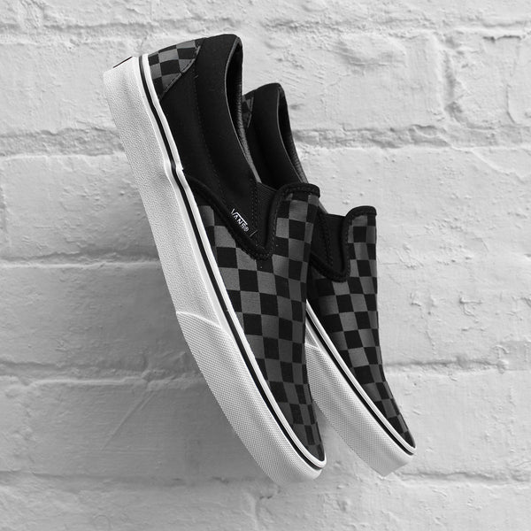 Vans Classic Slip-On Checkerboard Black / Black