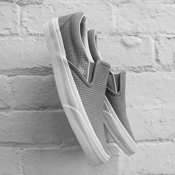Vans Classic Slip-On Braided Suede Dove