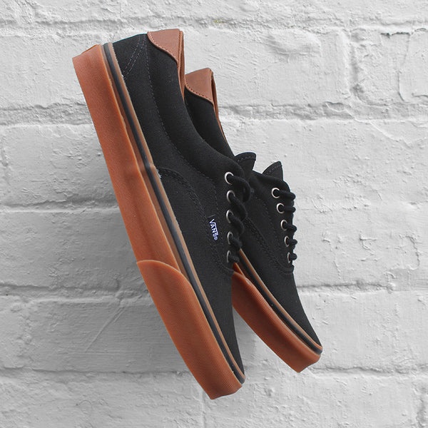 Vans Era 59 Black Classic Gum Canvas Leather