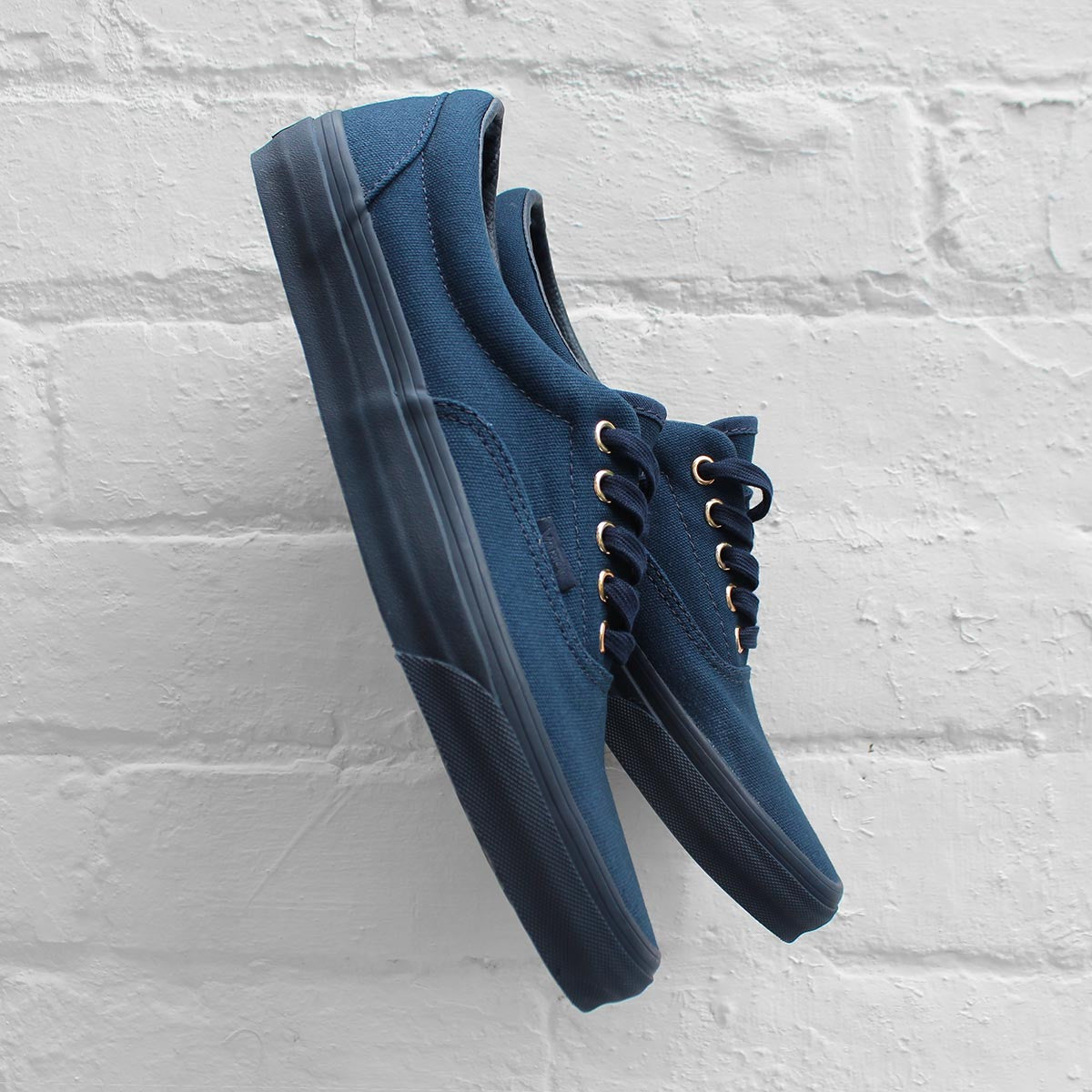 Vans Era (Gold Mono) Dress Blues