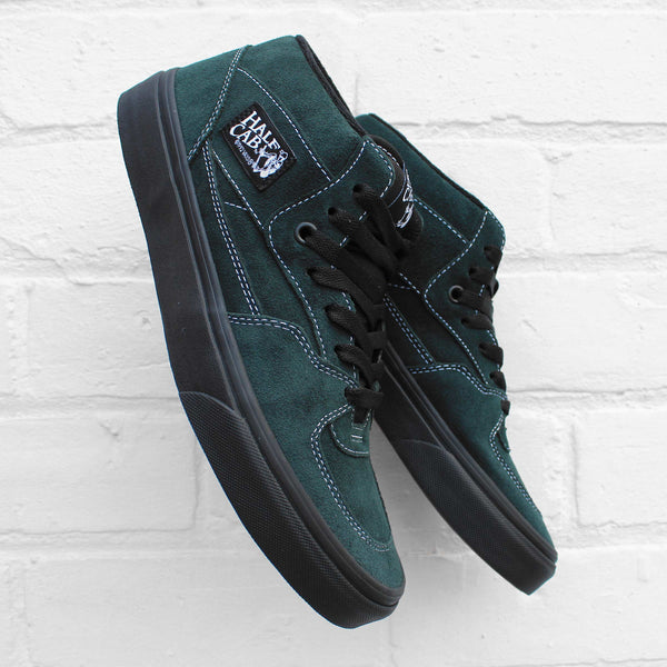 Vans Half Cab (Black Outsole) Darkest Spruce/Black