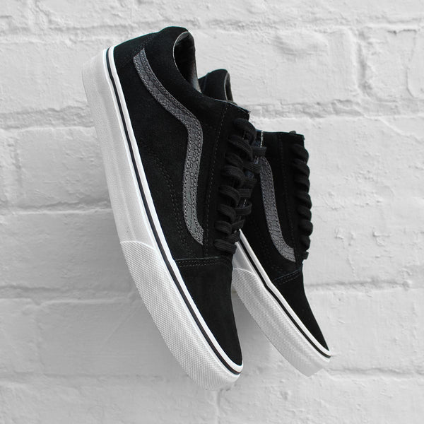 Vans Old Skool (Reptile) Black/Tornado