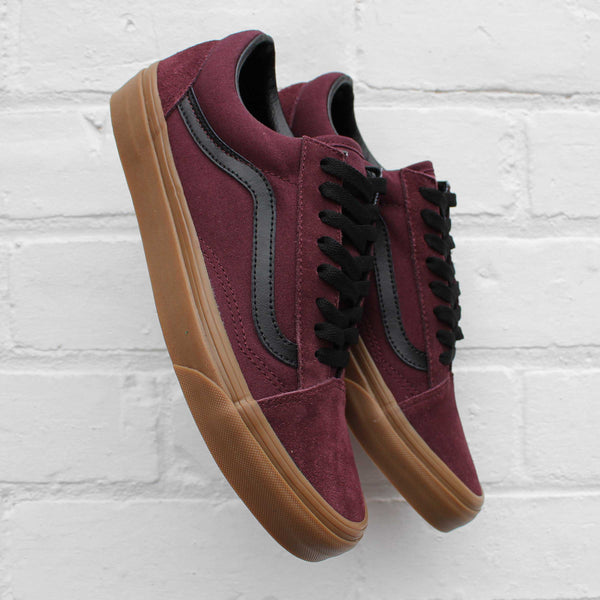 Vans Old Skool (Gum Outsole) Catawba Grape/Black