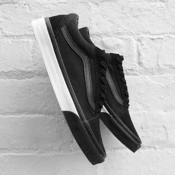 Vans Old Skool (Mono Bumper)  Black / True White