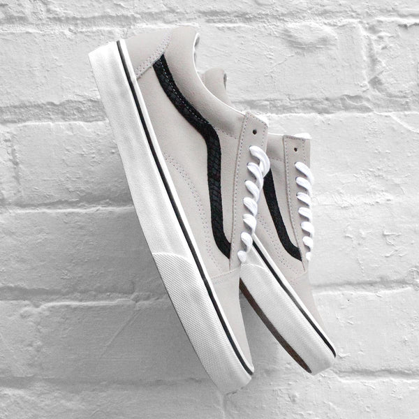Vans Old Skool (Reptile) White/Black