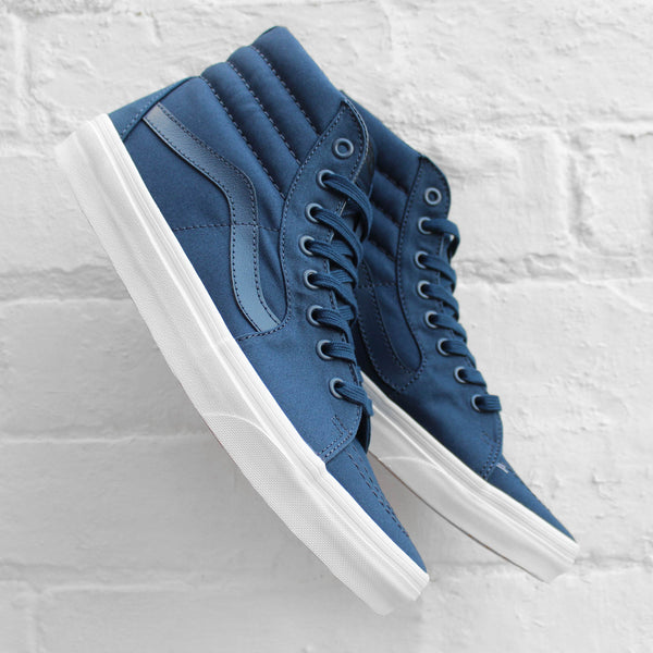 Vans SK8-Hi (Mono Canvas)  Dress Blues/True White
