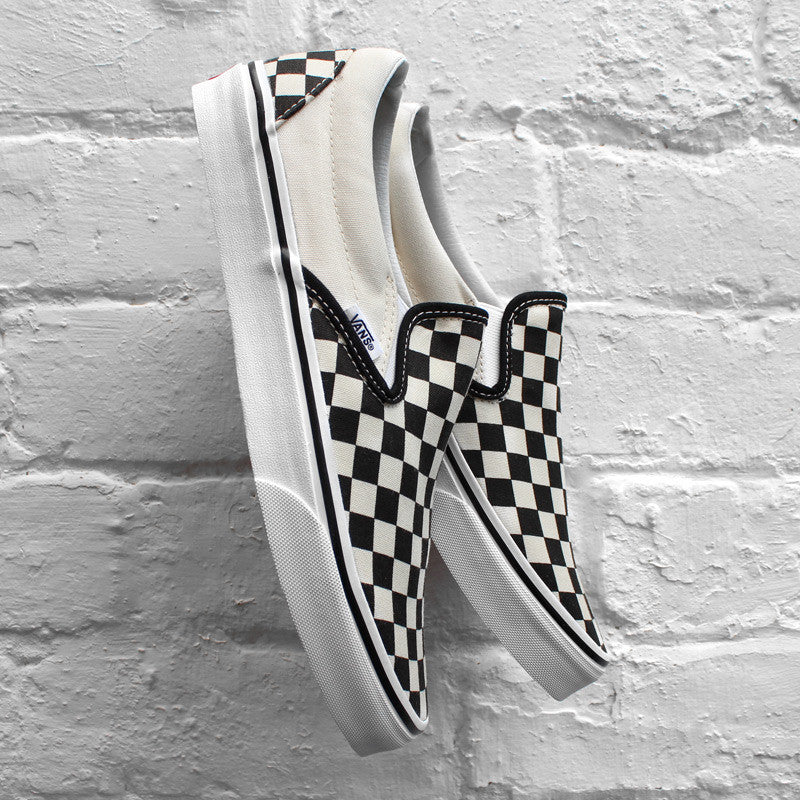 Vans Classic Slip-On - Checkerboard - Black White