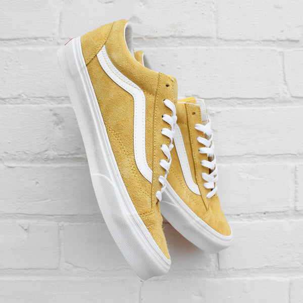 Vans Style 36 CA (Hairy Suede) Aspen Gold