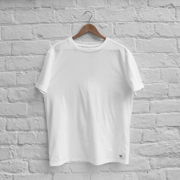 Wood Wood Basic T-Shirt White