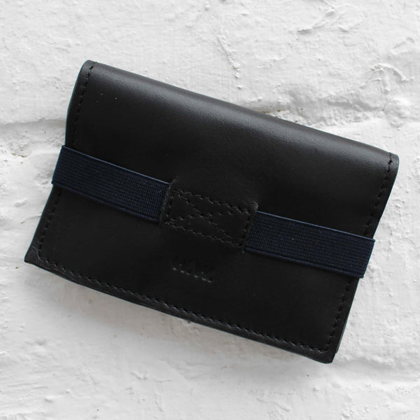 Wood Wood Brent Card Holder Black