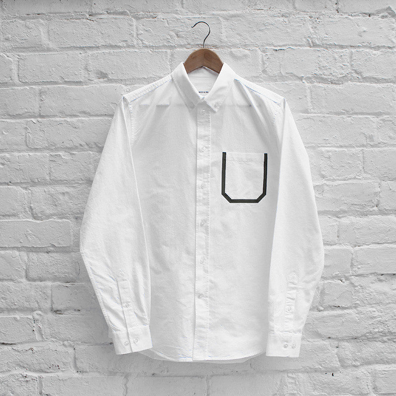 Wood Wood Dorset Shirt - White