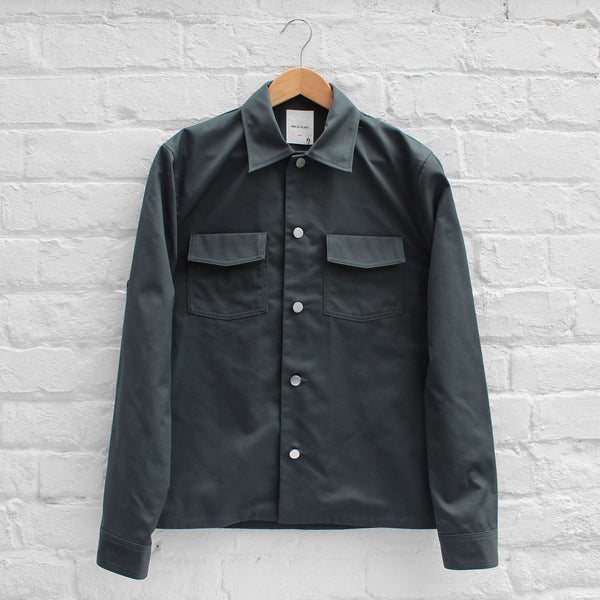 Wood Wood Franco Shirt Dark Green