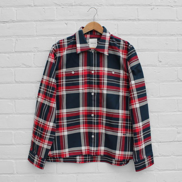 Wood Wood Franco Shirt Red Check