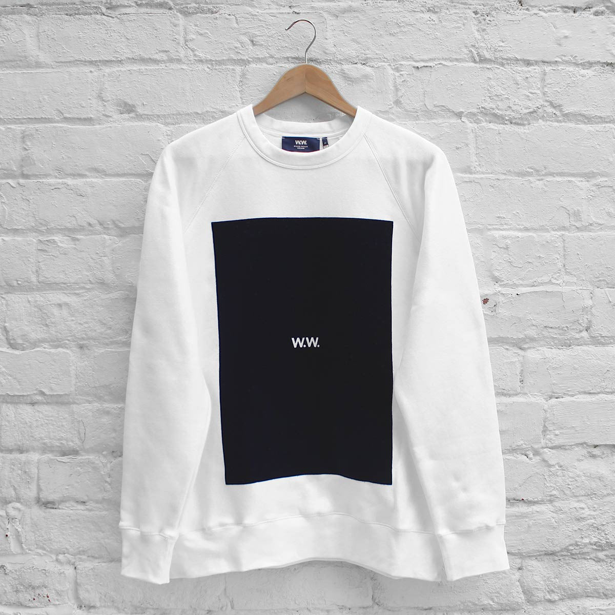 Wood Wood Hester Sweatshirt WW White