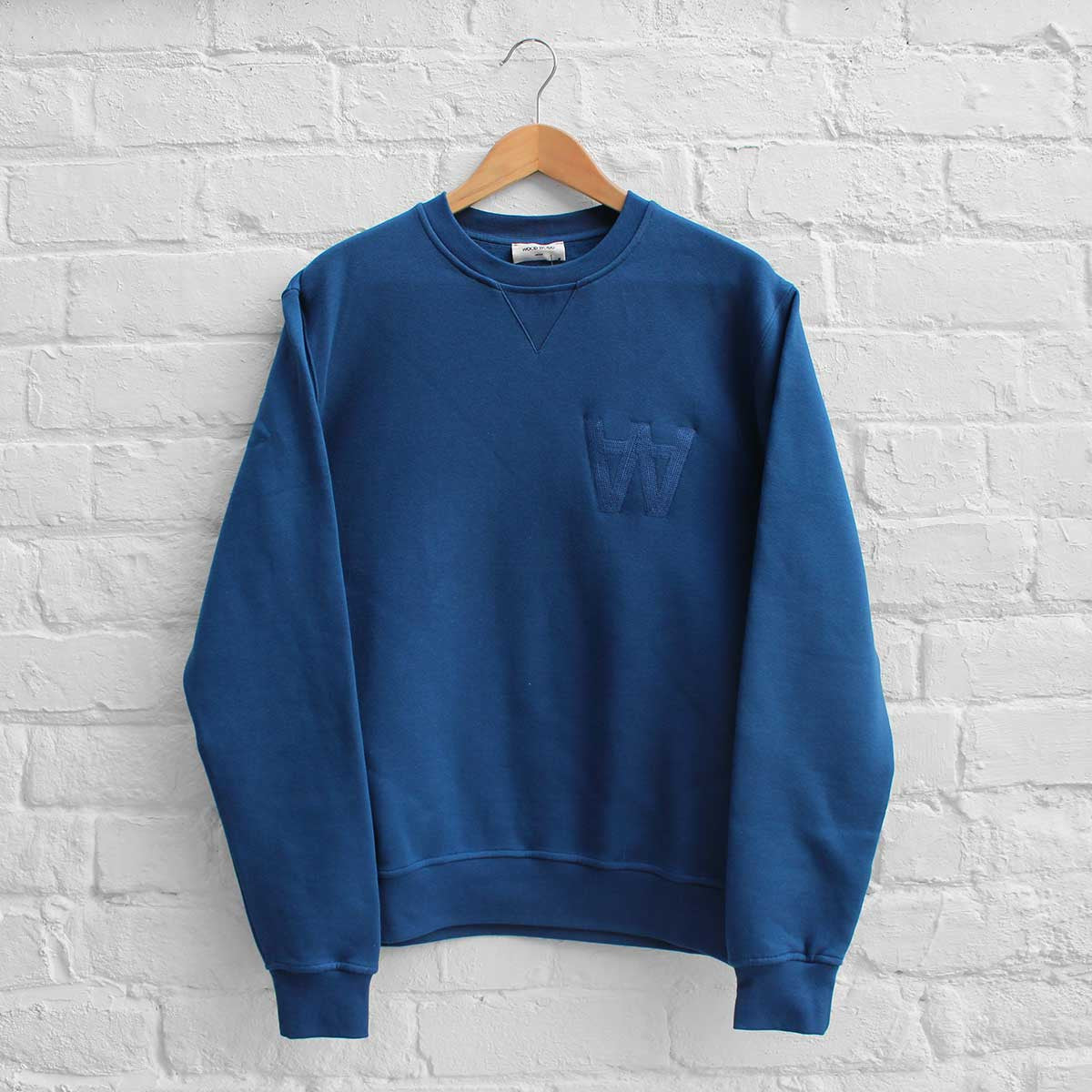 Wood Wood Houston Sweatshirt AA Estate Blue