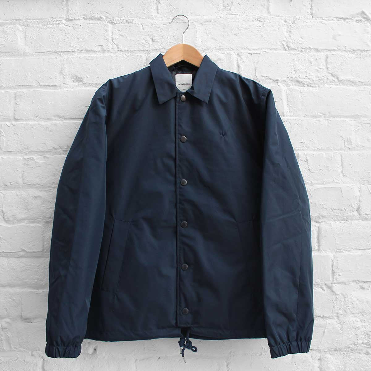 Wood Wood Kael Jacket Dark Navy