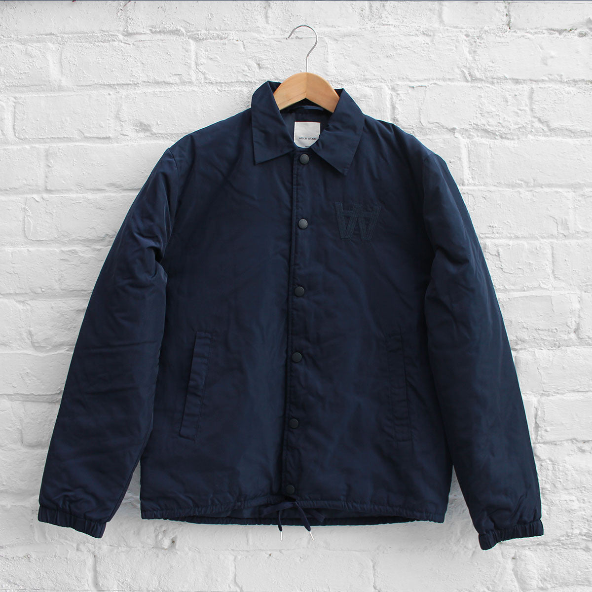 Wood Wood Kael Jacket Navy