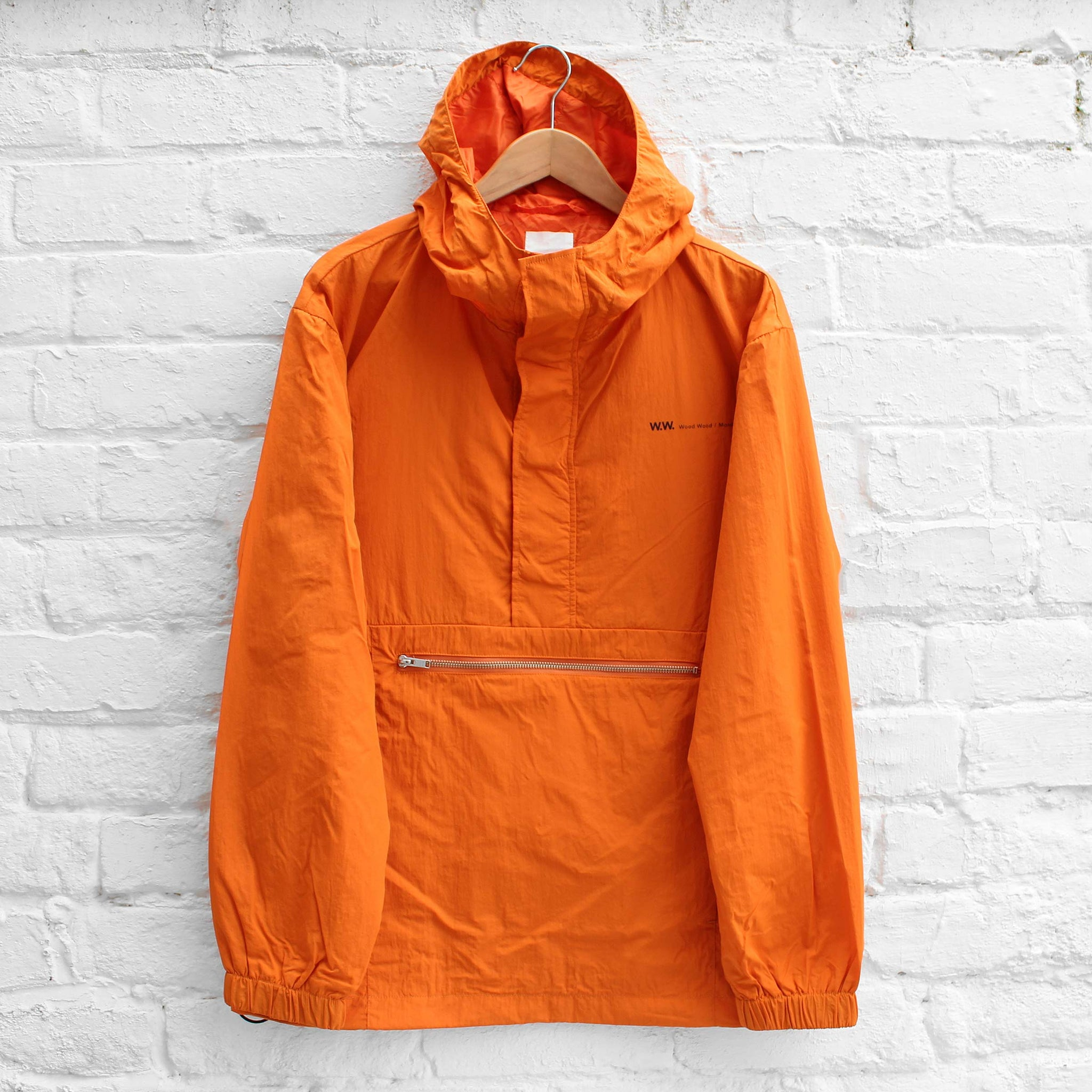 Wood Wood Loy Jacket Dark Orange