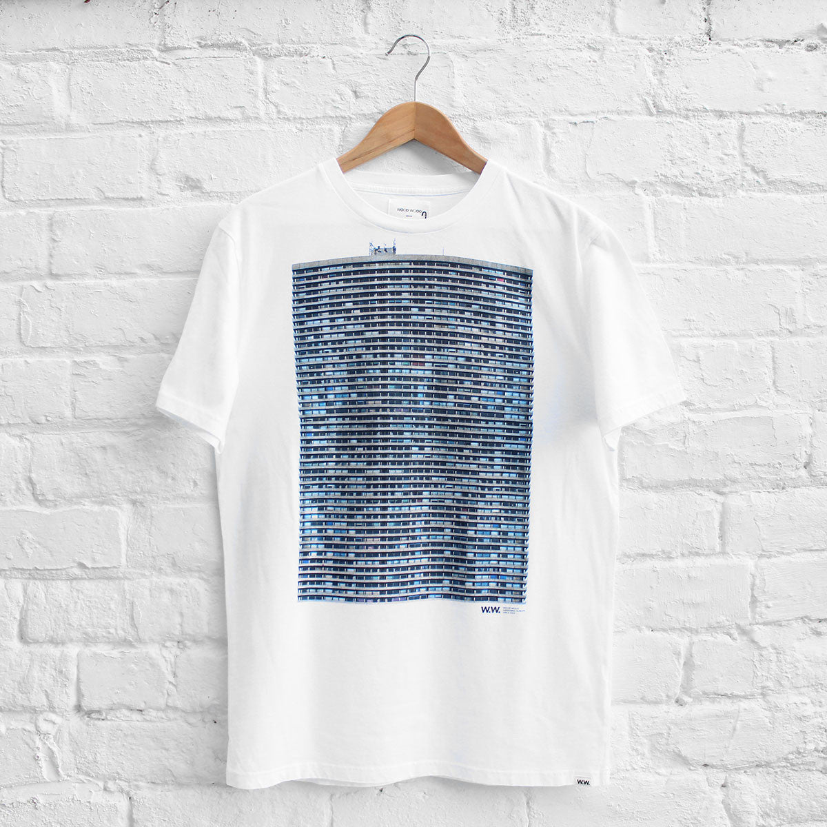 Wood Wood Maison T-Shirt White