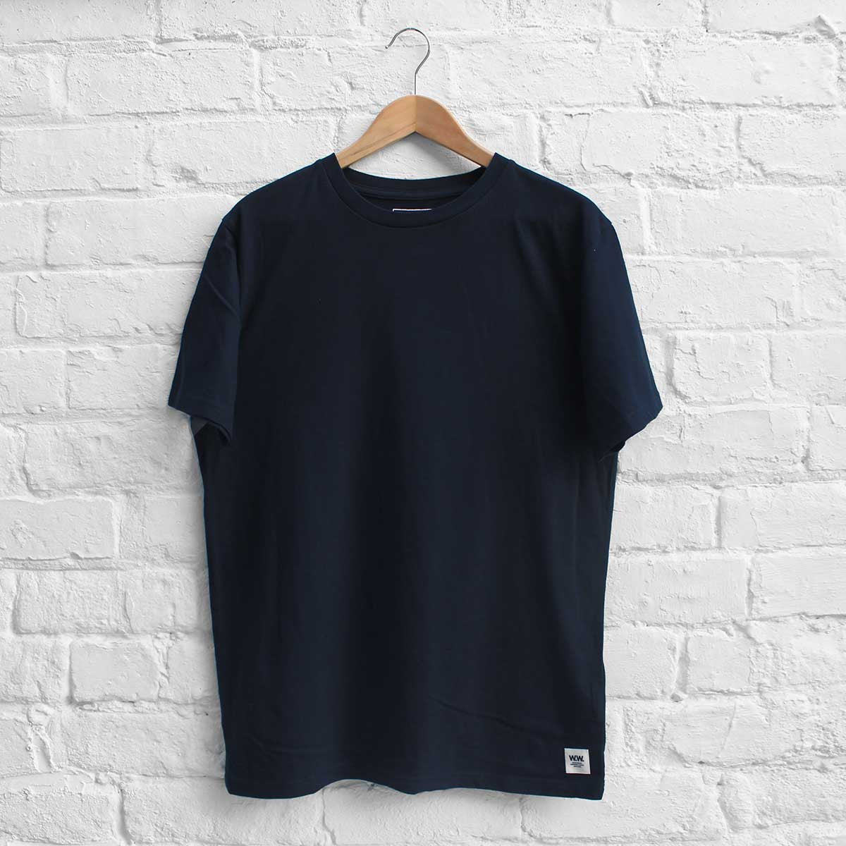 Wood Wood Basic T-Shirt Dark Navy