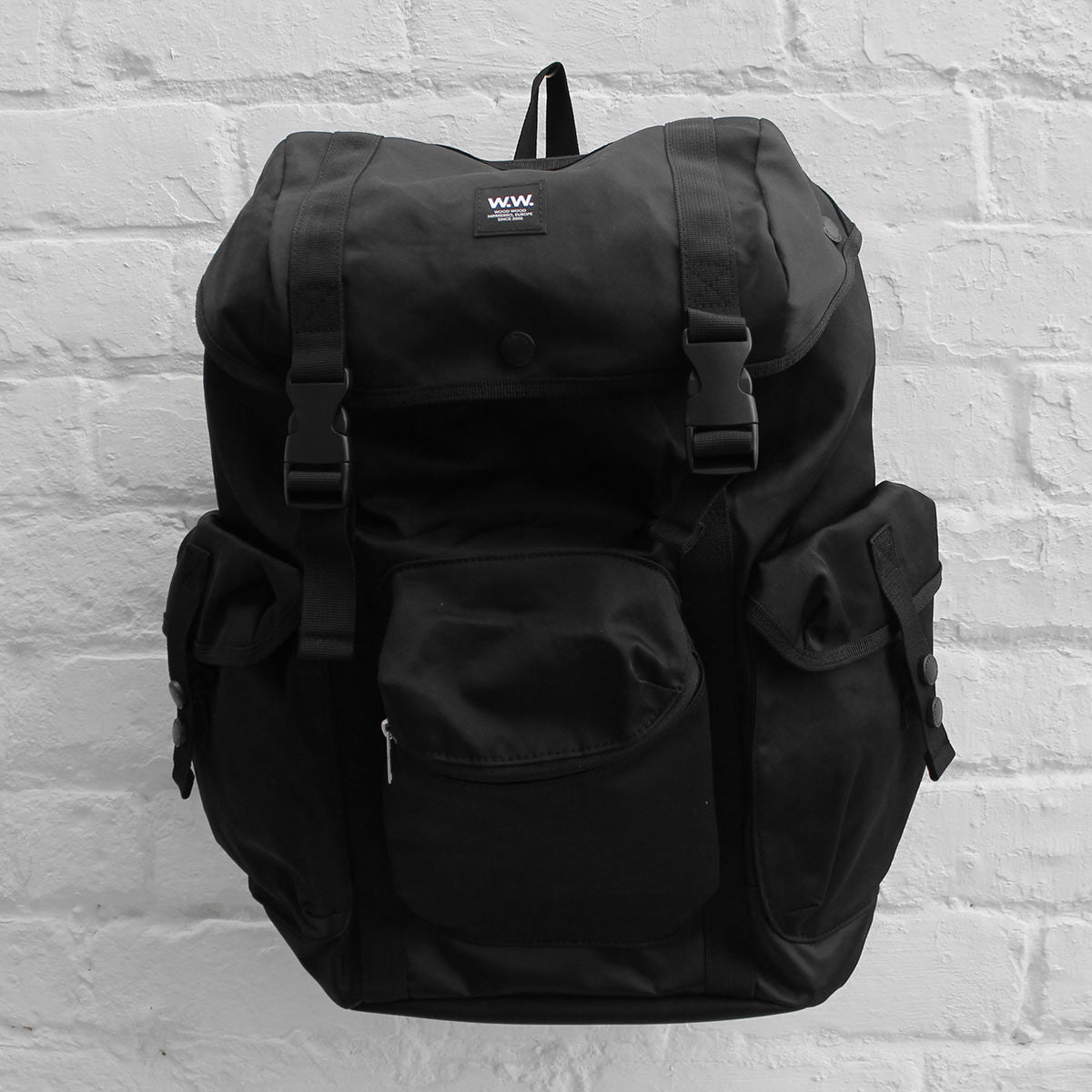Wood Wood Mills Bag Black
