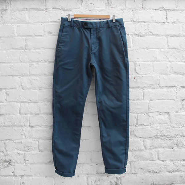 Wood Wood Oskar Pants Black Iris