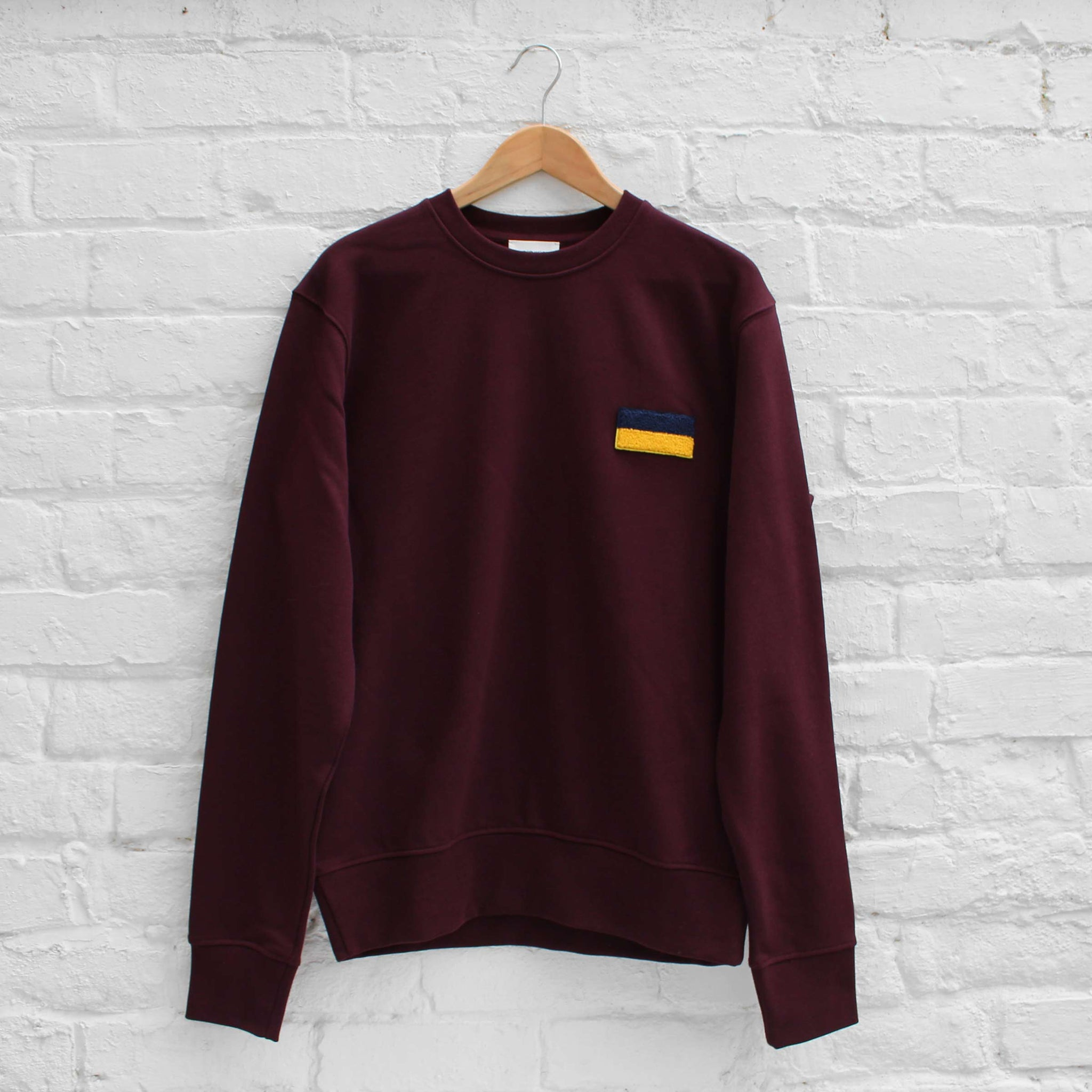 Wood Wood Parson Sweatshirt Burgundy