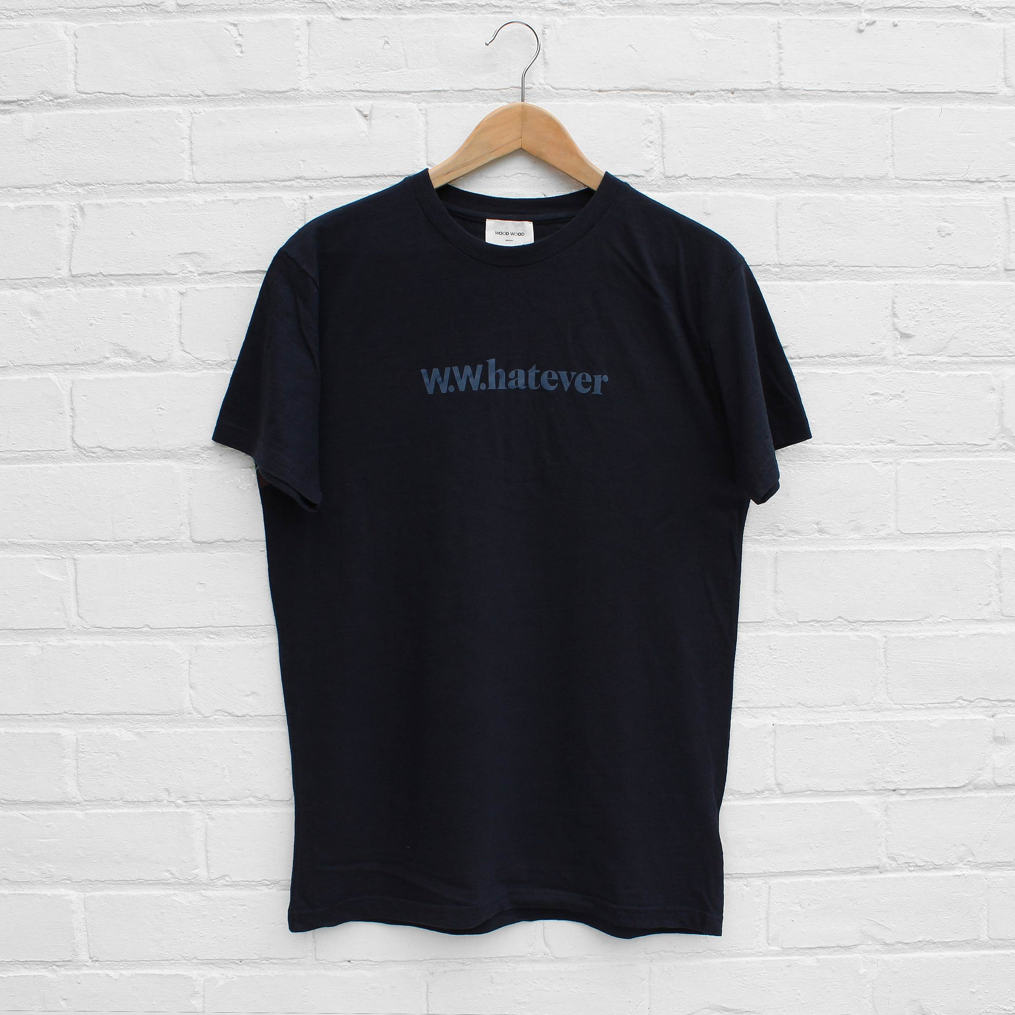 Wood Wood Perry T-Shirt Navy