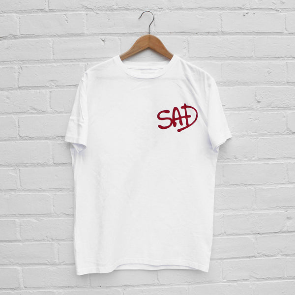 Wood Wood SAD T-Shirt Bright White