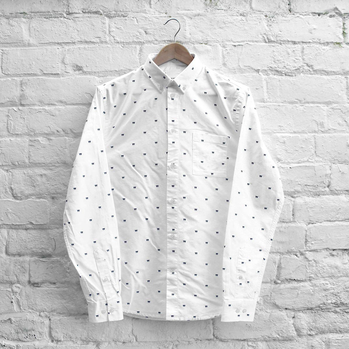 Wood Wood Timothy Shirt AA White