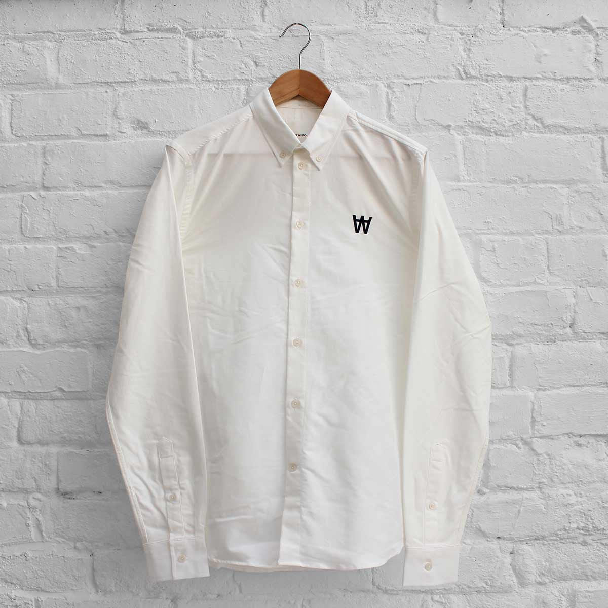 Wood Wood Timothy Shirt Bright White