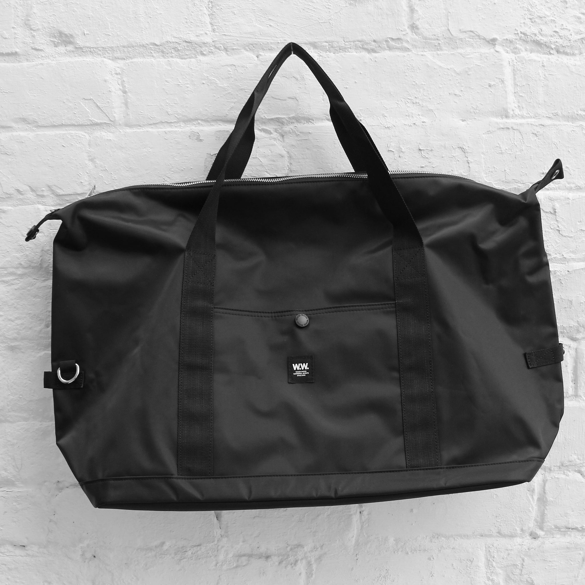 Wood Wood Tony Weekend Bag Black