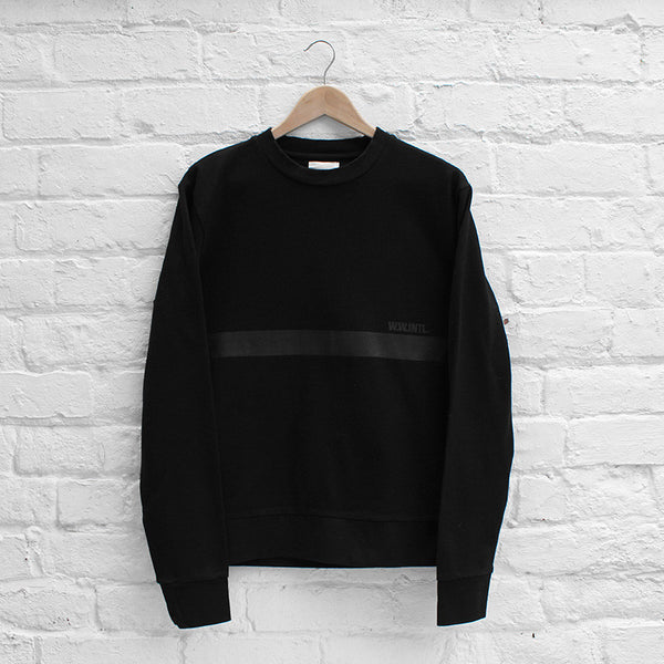 Wood Wood Troy Sweatshirt Black