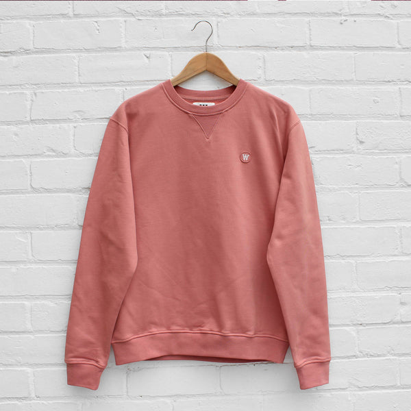 Wood Wood Tye Sweatshirt Dark Rose