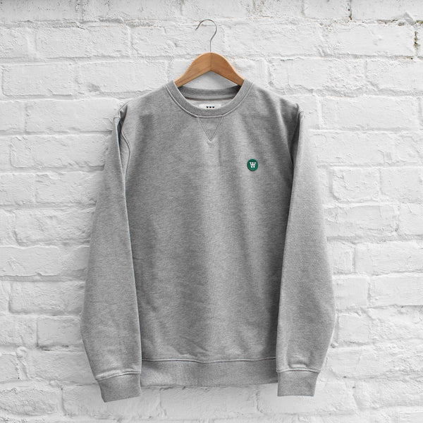 Wood Wood Tye Sweatshirt Grey Melange