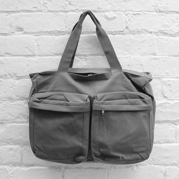 Wood Wood Zachary Bag Grey