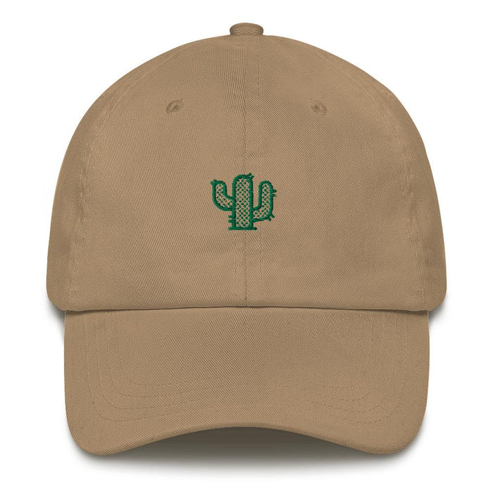 Vogue Shoes - Khaki Cactus Dad hat - Vogue Shoes