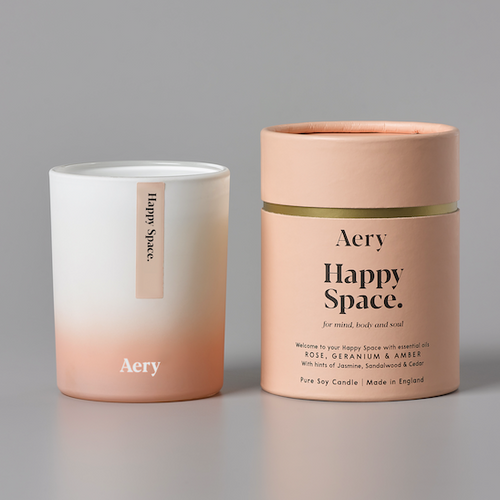 Happy Space Candle