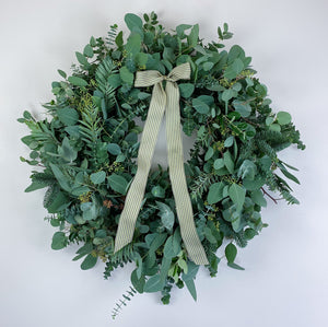 Just Foliage Christmas Wreath