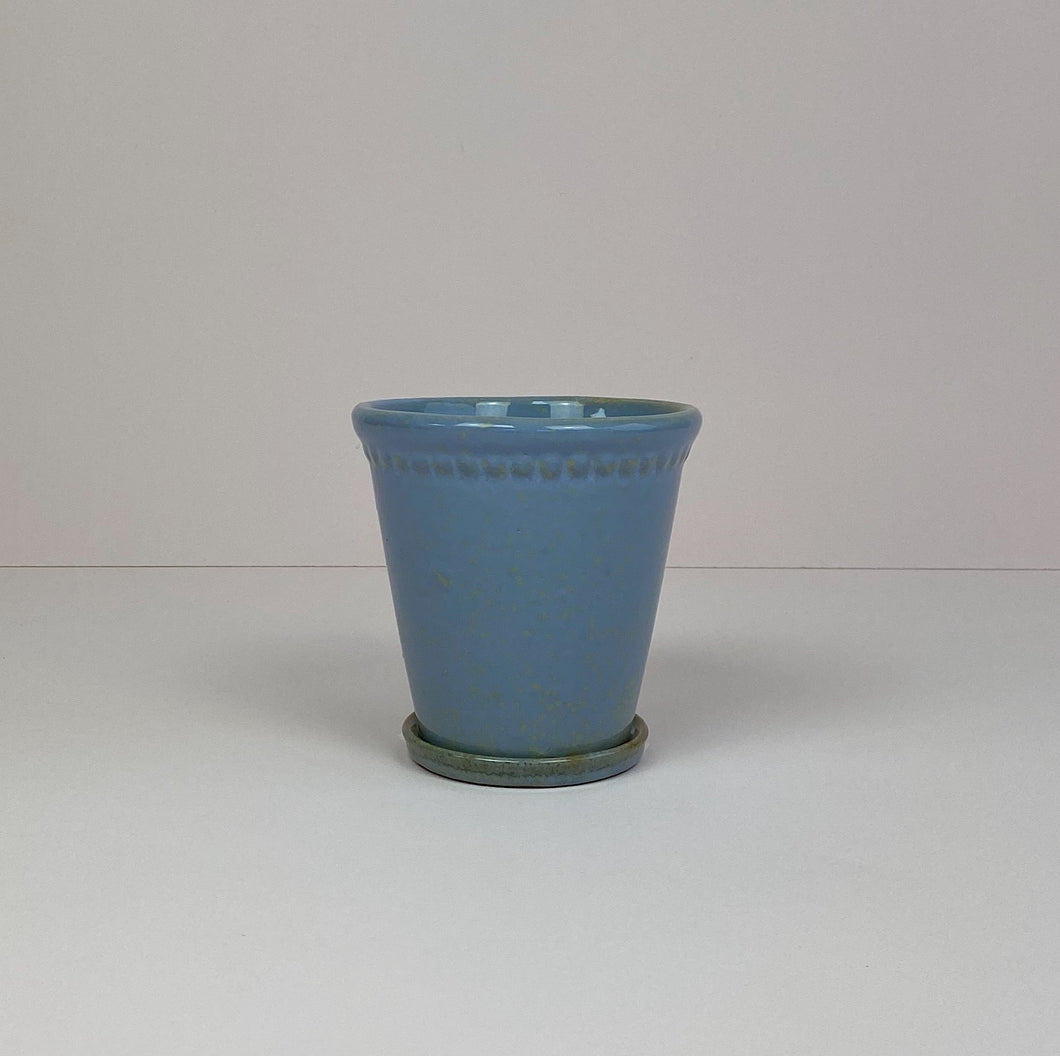 Medium Plant Pot Blue