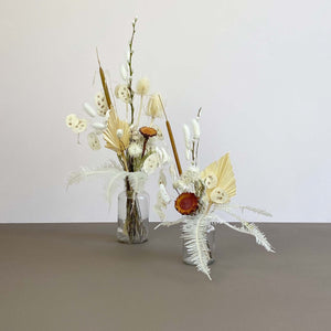 Dried Flower Duo Jar Set