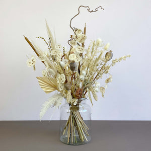Bleached Dried Flowers