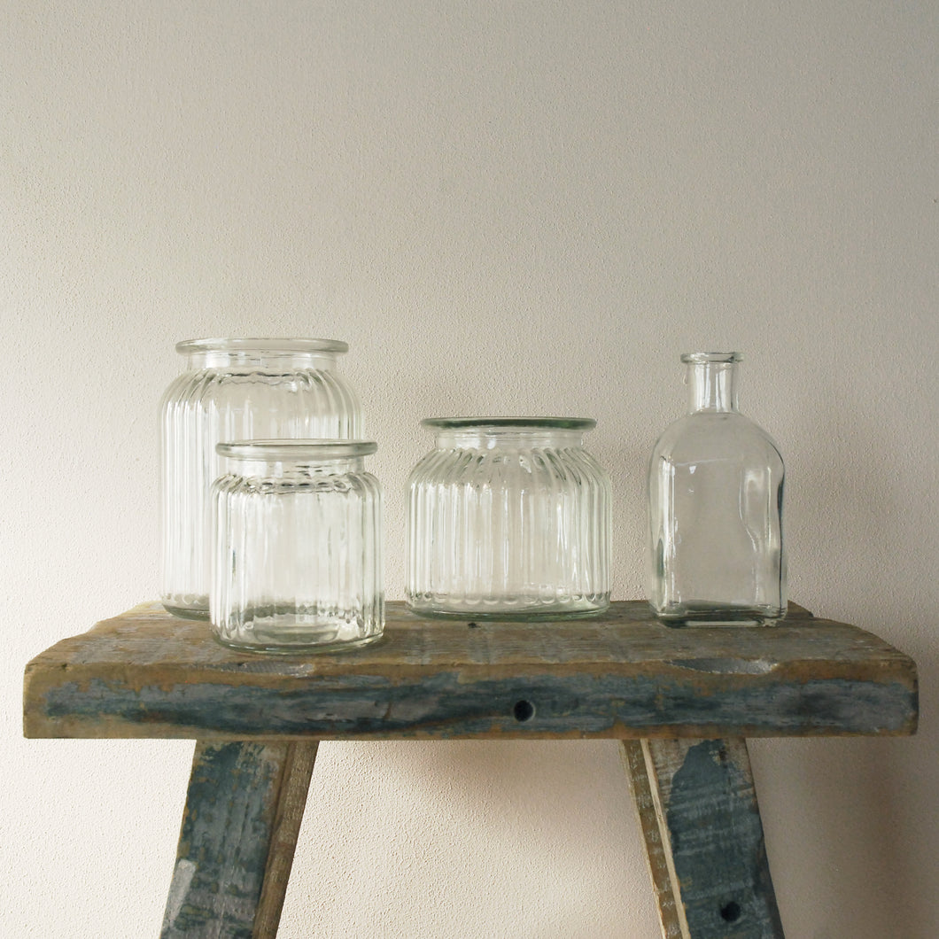Empty Bottles & Jars