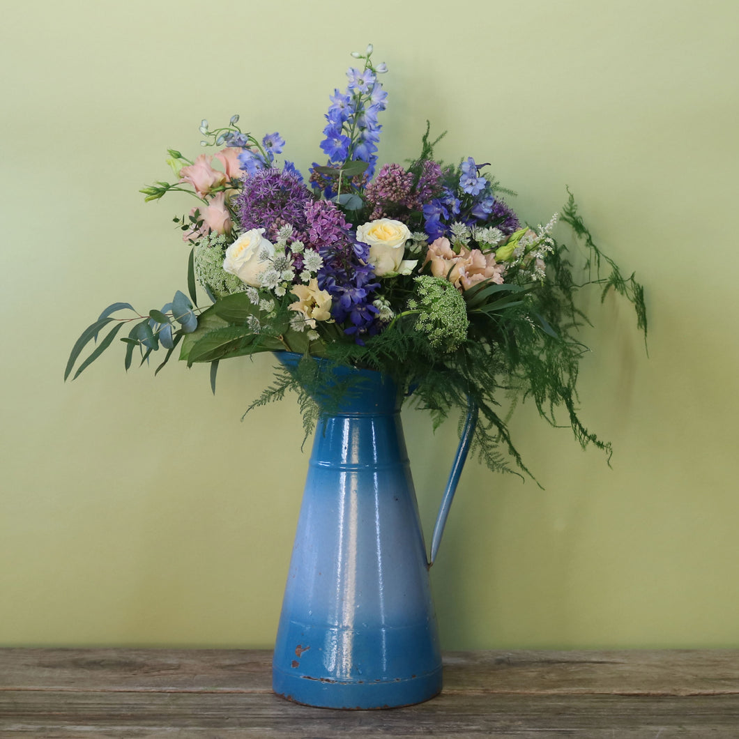 Saturday 15th June: British Flower Week Jug Arrangement